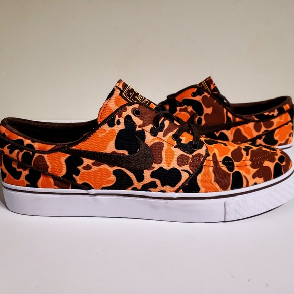 best loved 310e7 ddfda Nike SB Zoom Stefan Janoski Canvas Camo Shoes